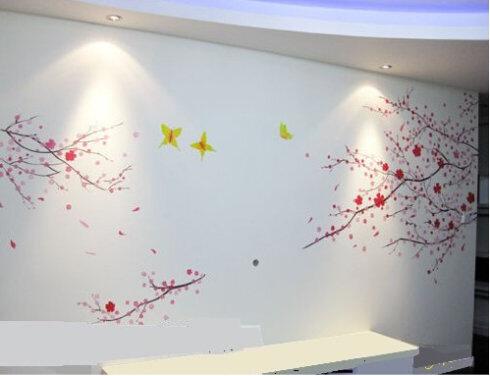丙烯颜料室内墙绘